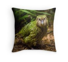 Sirocco the Kakapo Throw Pillow