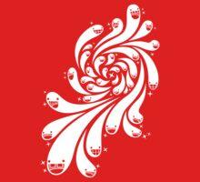 Happy Splash - 1-Bit Oddity - White Version One Piece - Short Sleeve