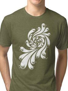 Happy Splash - 1-Bit Oddity - White Version Tri-blend T-Shirt