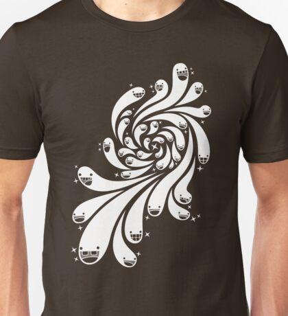 Happy Splash - 1-Bit Oddity - White Version Unisex T-Shirt