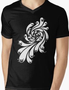 Happy Splash - 1-Bit Oddity - White Version Mens V-Neck T-Shirt