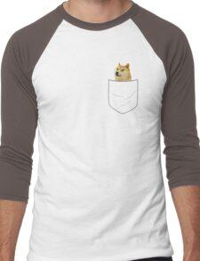 pocket doge Men's Baseball ¾ T-Shirt