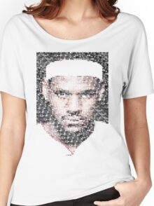 Lebron James Typo - Miami Heat NBA Basketball Women's Relaxed Fit T-Shirt
