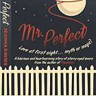 'Mr. Perfect' book cover by Sam Novak