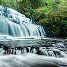 Purakanui Falls - New Zealand by Kimball Chen