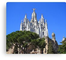 The Temple de Sagrat Cor..................Barcelona Canvas Print