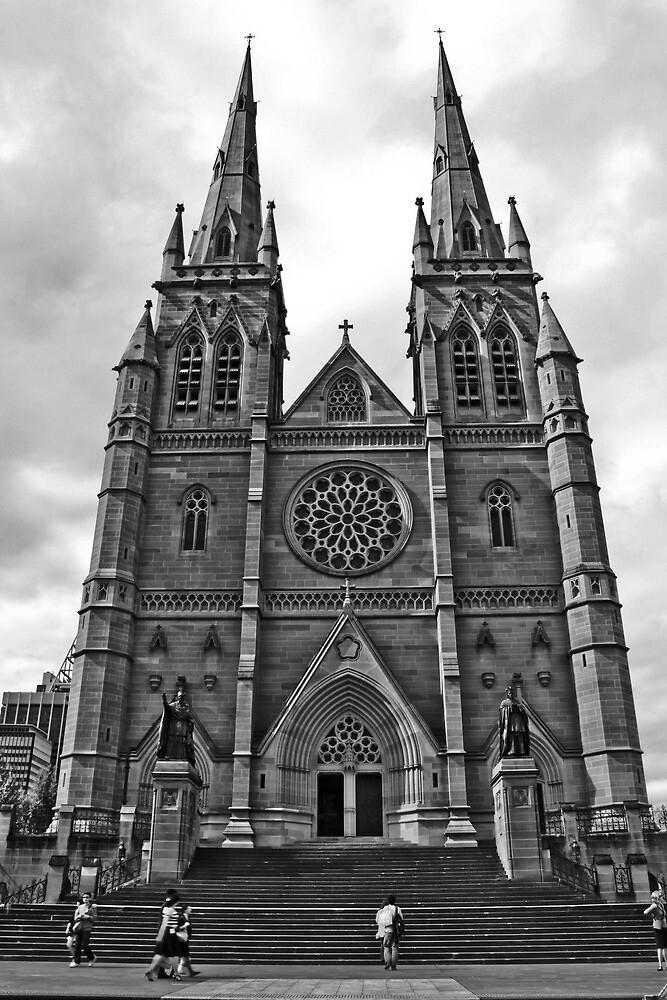 Saint Mary's Cathedral by Cassandra Jones