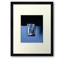 double sixes Framed Print