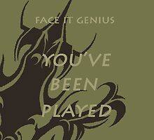 Face It Genius by CassTebeau