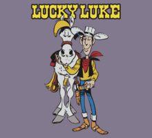 Lucky Luke Cartoon Kids Clothes