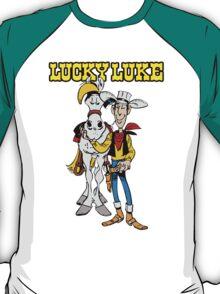 Lucky Luke Cartoon T-Shirt