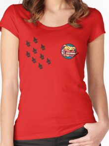 Striker Eureka Kill Count Women's Fitted Scoop T-Shirt