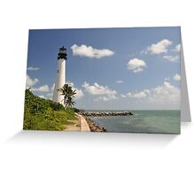 Florida Lighthouse Greeting Card