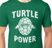 Turtle Power Electric Unisex T-Shirt