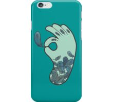 Blue Feather Tattoo iPhone Case/Skin