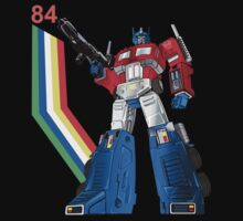 Optimus Prime 84 Transformers by DungeonFighter
