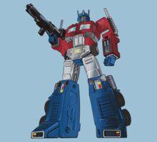 Optimus Prime Transformers Kids Clothes