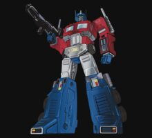 Optimus Prime Transformers by DungeonFighter
