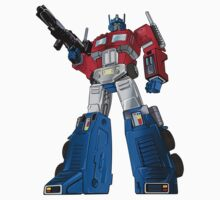 Optimus Prime Transformers Kids Clothes