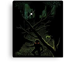 A Case For Mulder & Scully Canvas Print
