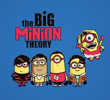 The Big Minion Theory by Donnie Illustration