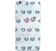 Beautiful Eyes in Batik Pattern iPhone Case/Skin