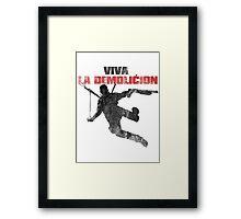 Just Cause - Viva la demolicion Framed Print
