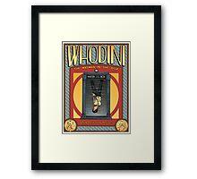 Whodini Framed Print