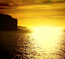 Sunrise on the Amalfi Coast by Polly Peacock
