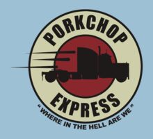 Planet Porkchop Express by gorillamask