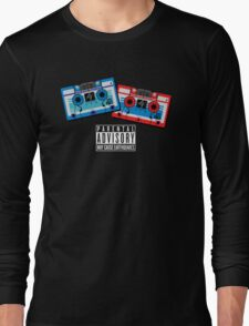 Rumble and Frenzy Mix Tapes 1984-1986 Long Sleeve T-Shirt