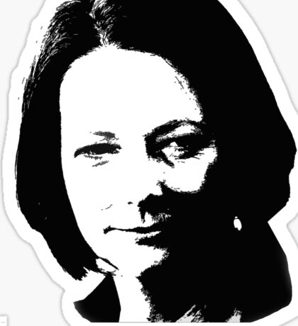 Julia. Real. Sticker