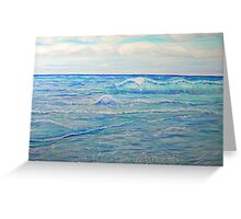 Beautiful Day by the Sea Greeting Card