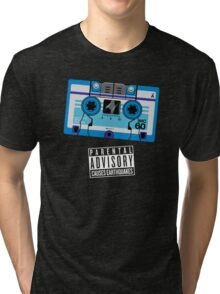Rumble / Frenzy Blue Mix Tape 1984-1986 Tri-blend T-Shirt