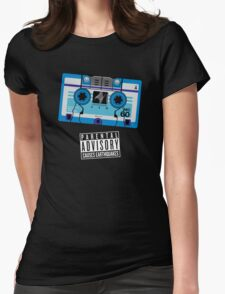 Rumble / Frenzy Blue Mix Tape 1984-1986 Womens Fitted T-Shirt