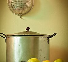 Pears and a Pot by bgbcreative
