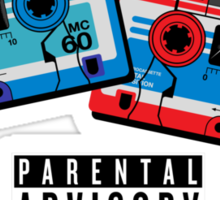 Rumble and Frenzy Parental Advisory Sticker Sticker