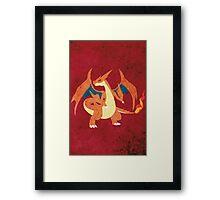 Mega Charizard Framed Print