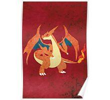 Mega Charizard Poster