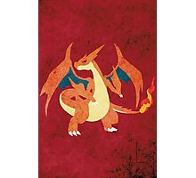 Mega Charizard Photographic Print