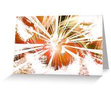 Lotus Buddha (v.Warm) Greeting Card