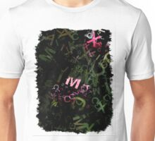 Pink Roses in Anzures 5  Letters 1 Unisex T-Shirt