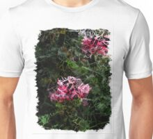Pink Roses in Anzures 5  Letters 2 Unisex T-Shirt