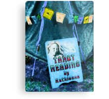 Tarot Reading Metal Print