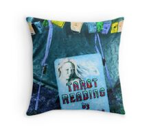 Tarot Reading Throw Pillow