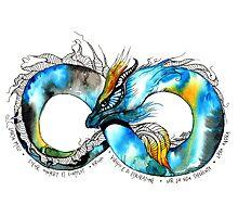 Infinity Dragon Photographic Print