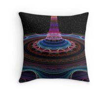 Julian's Light Beam Throw Pillow