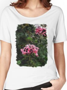 Pink Roses in Anzures 5  Letters 4 Women's Relaxed Fit T-Shirt