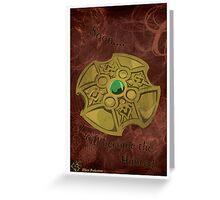 Underworld : William's Key Greeting Card