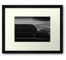 ©DA Concept Tree IR Monochrome Framed Print